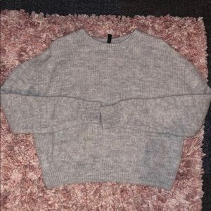 H&M Divided Knitted Sweater Wool
